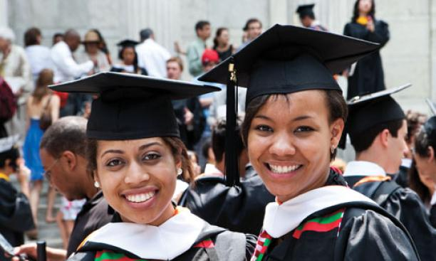 Anita Obodo '10, left, and Jasmine Ellis '10
