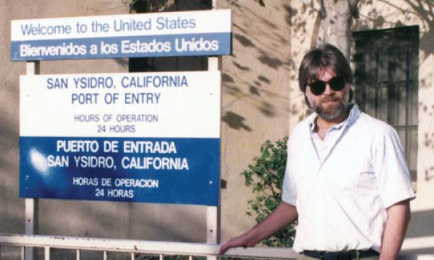 Massey at the U.S.-Mexico border in 1988, six years after the MMP was created.