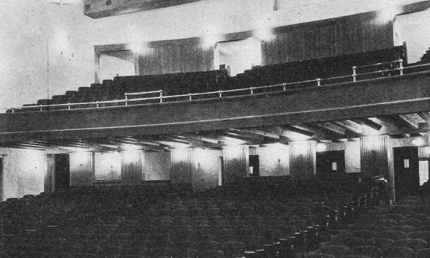 1930 views of the exterior and interior of McCarter Theatre.