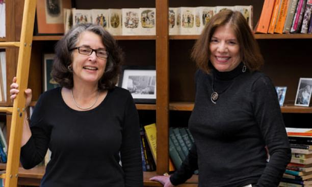 Marriage story lines can camouflage darker themes in 19th-century fiction, Maria DiBattista, right, and Deborah Nord say.