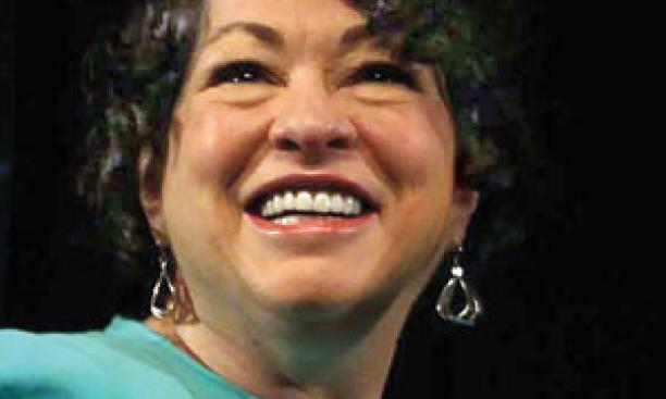 Supreme Court Justice Sonia Sotomayor '76