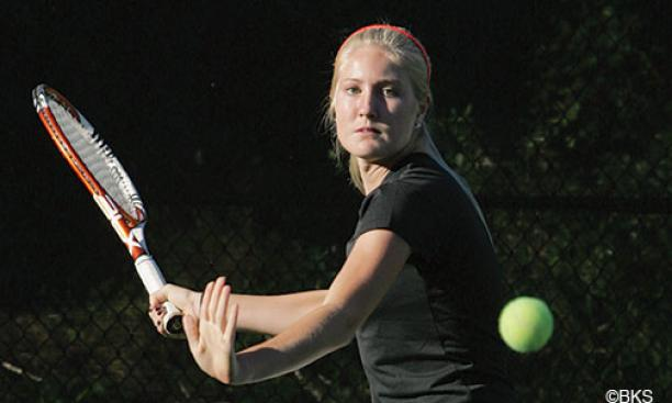 Alanna Wolff '17 was home-schooled to accommodate her tennis travel and training.