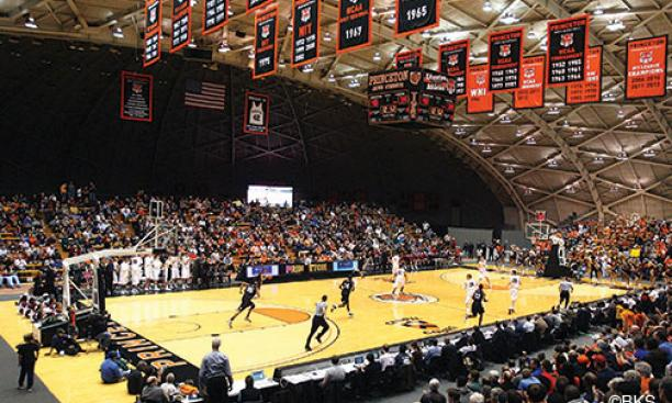 Jadwin Gym's unique dimensions may play a role in the Tigers' exceptional home-court advantage.