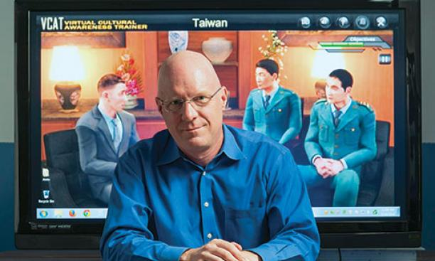 W. Lewis Johnson '78's company makes virtual language and culture programs.