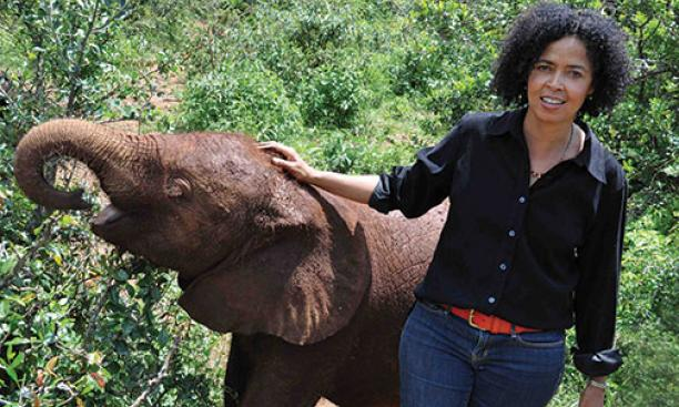 Paula Kahumbu *02 developed a love of animals growing up in Nairobi, where her neighbor was renowned conservationist Richard Leakey.