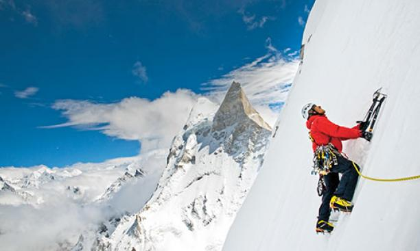Three elite climbers try to conquer the most technically difficult peak in the Himalayas in the film Meru.
