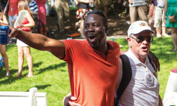 PASSING THROUGH THE P-RADE — submitted by Marc Aaron Melzer '02