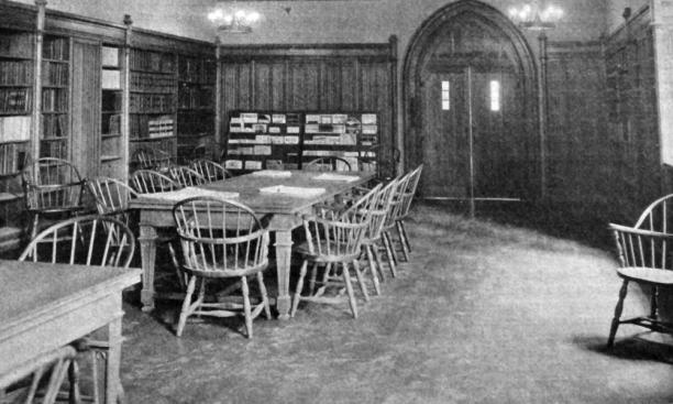 The new engineering lab library, 1928: on their own.