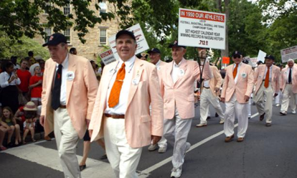 The Class of 1951 in the 2011 P-rade