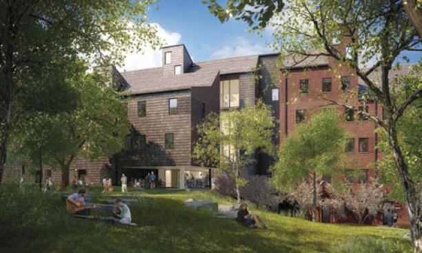 LAKESIDE (graduate housing): Expected completion in summer 2014, Studio Ma. 382,000