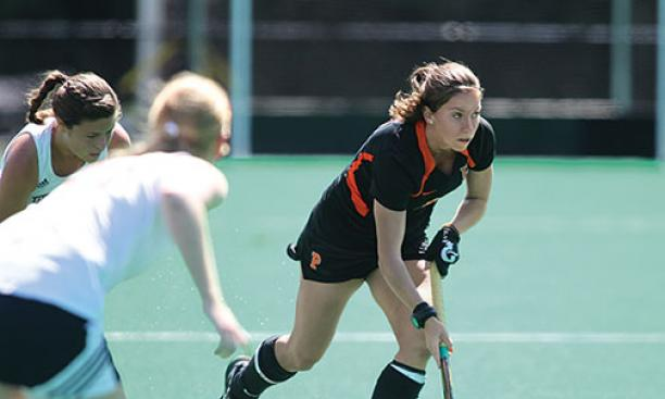 Sydney Kirby '15 is one of two starters remaining from Princeton's 2012 national- championship team.