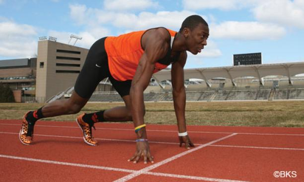 At the indoor NCAA Championships March 8, Austin Hollimon '13 ran the 400-meter leg for Princeton's distance-medley relay team, which beat 11 other teams for the title.