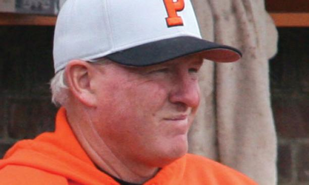 Baseball head coach Scott Bradley