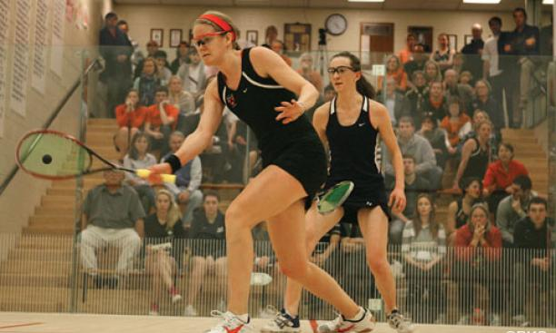 Julie Cerullo '13 is the nation's fourth-ranked women's college squash player, thanks to her ability to tailor her strategy to her opponent.