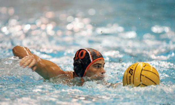 Drew Hoffenberg '15 is a standout on the men's water polo team, which is one of the top-ranked teams outside of California.