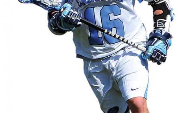 Jack McBride '11 played on the lacrosse team while ­earning an M.B.A. at the ­University of North Carolina.