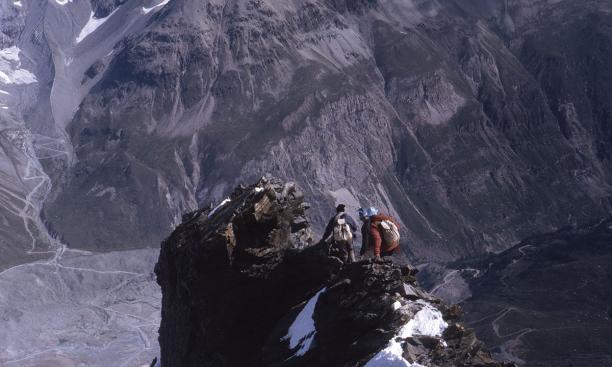 The breathtaking descent of the Matterhorn.