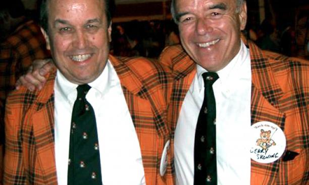 Scott Andrews '64, left, and Gerald D. Skoning '64