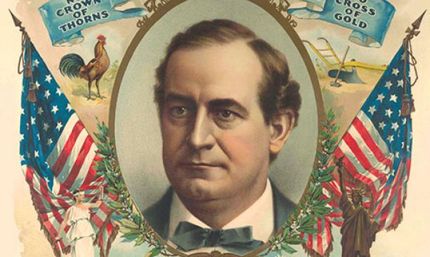 Campaign poster, William Jennings Bryan