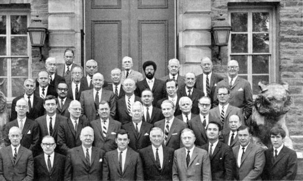 Princeton Trustees, October 1969