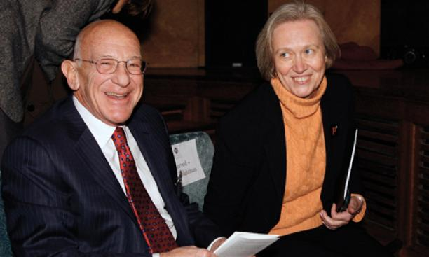 2006: In perhaps the most significant fundraising moment of Tilghman's presidency, Peter B. Lewis '55 pledges $101 million to Princeton, the largest gift in University history, to support an expansion of programs in the creative and performing arts. (