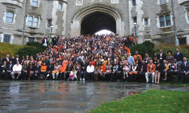 "2009: In the fall, 650 participants join Tilghman and other University hosts at ""Coming Back & Moving Forward,"" Princeton's largest gathering of African-American alumni. Also in the news this year, Princeton's endowment declines sharply as the fin"