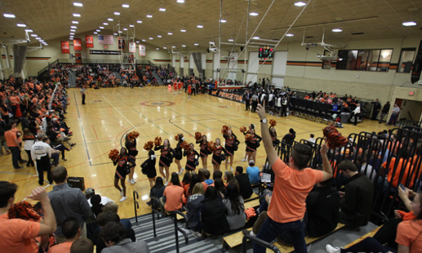 Princeton beat Saint Peter's in the first game at Dillon Gym since 1969. (Beverly Schaefer)