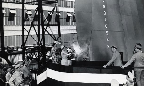 Margaret Dodds s*1914 Launching USS Princeton IV: She Flourishes