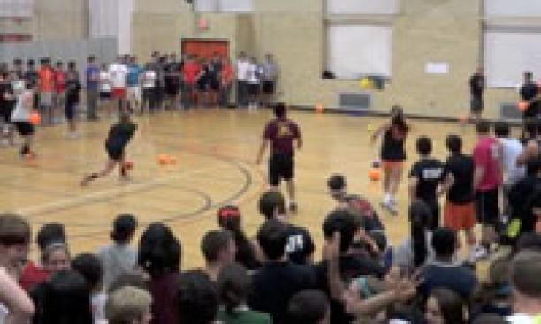 The 2012 Princeton Dodgeball Tournament drew 105 teams.