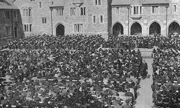 Dedication of the Graduate College, 1913.