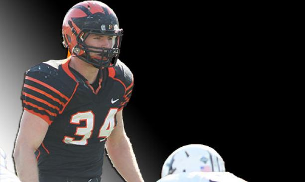 Co-captain Mike Zeuli '15