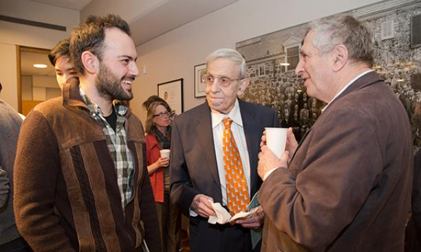 John Nash Jr. *50, replete with APGA tie: Outstanding … in his field