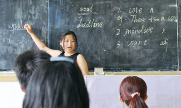 Sohee Hyung '16 leads an English class in Jishou, China, in the summer of 2013 as a Princeton in Asia intern. Study abroad programs and internships enable our students to engage their many scholarly and cultural interests in Asia.