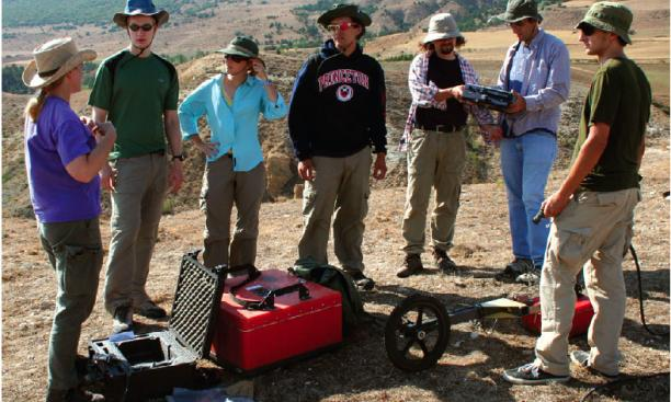 Princeton researchers are part of an international team working in the Avkat region in north-central Turkey, where they are combining traditional archaeological techniques with high-tech methods, such as remote sensing and satellite imaging, to increase u