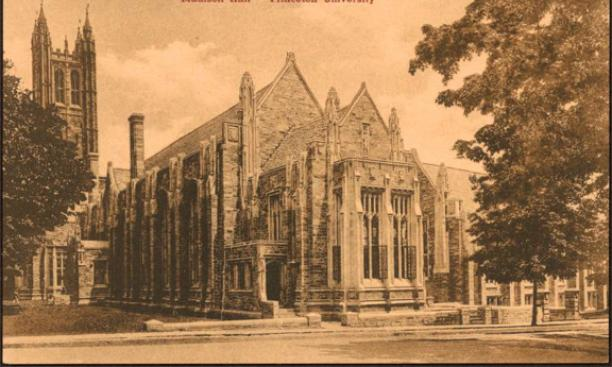 The home of Commons, Madison Hall (Site of the proposed student center in 1917): Mary Ann?