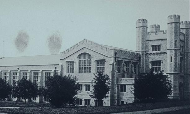 University Gym 1903: Gothic exercise