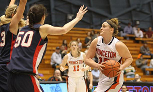 Annie Tarakchian '16 scored 12 points off the bench against Penn. (Beverly Schaefer)