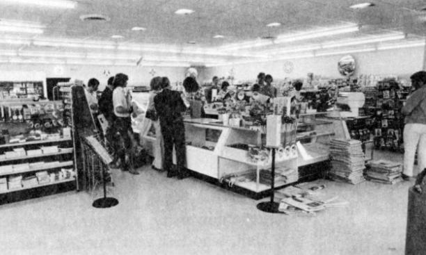 Princeton's Wawa in 1974. (PAW Archives)