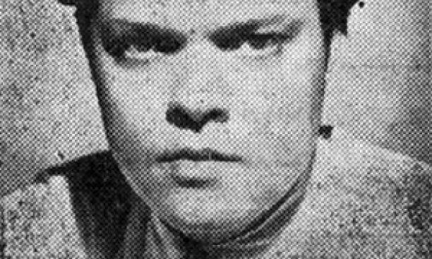 Orson Welles in 1938: The farmer's nemesis