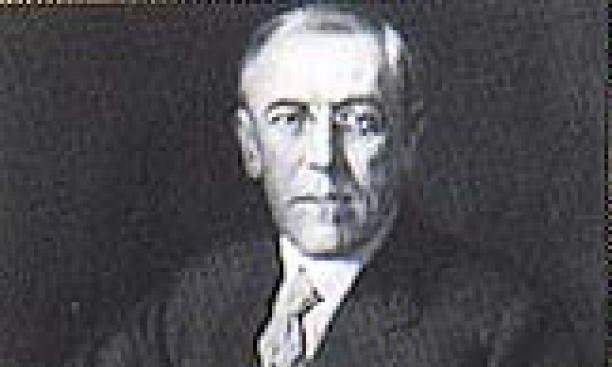Woodrow Wilson 1879: Celebrity.
