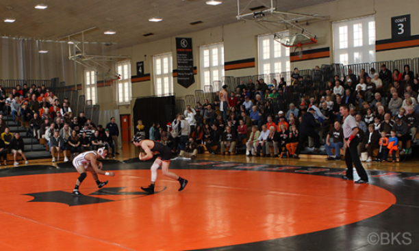 Princeton split its matches against Northwestern and Lehigh Dec. 5. (Beverly Schaefer)