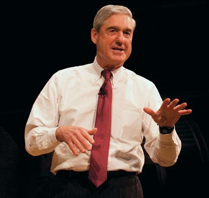 Woodrow Wilson Award winner Robert Mueller III '66
