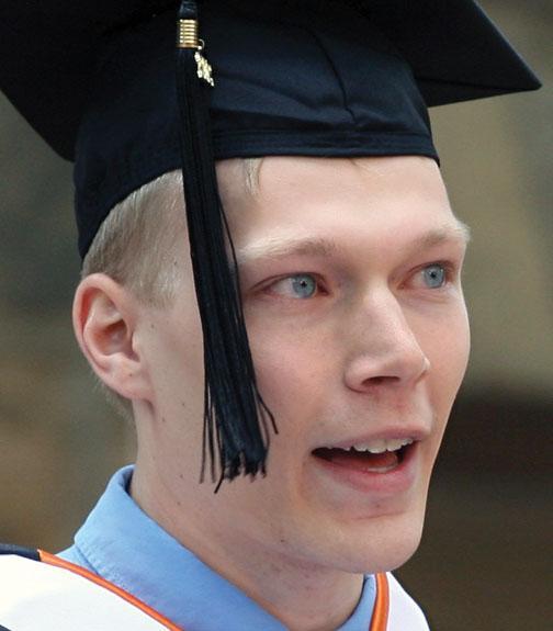 Valedictorian Nathaniel Fleming '12