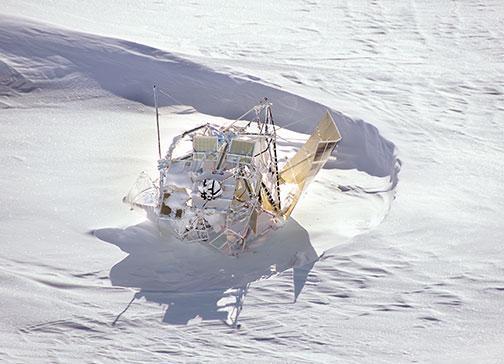 SPIDER landed in Ellsworth Land, in the western part of Antarctica.
