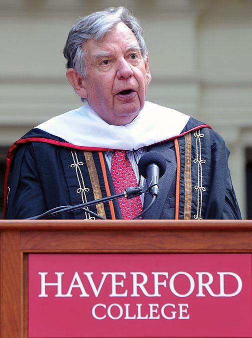 Former Princeton president William Bowen *58.