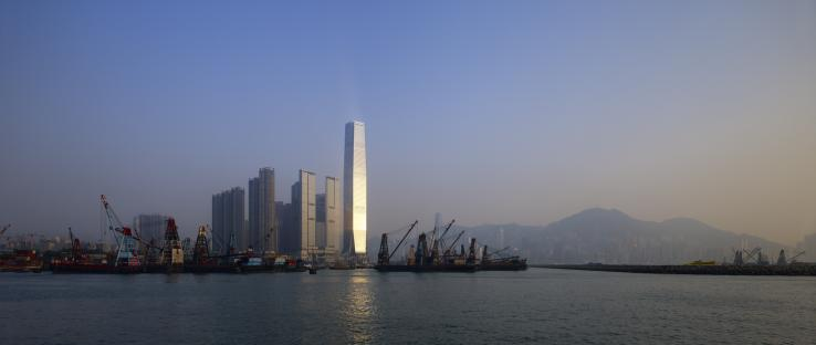 The 118-story International Commerce Centre (ICC) tower is the tallest building in Hong Kong. (Photo: Tim Griffith)