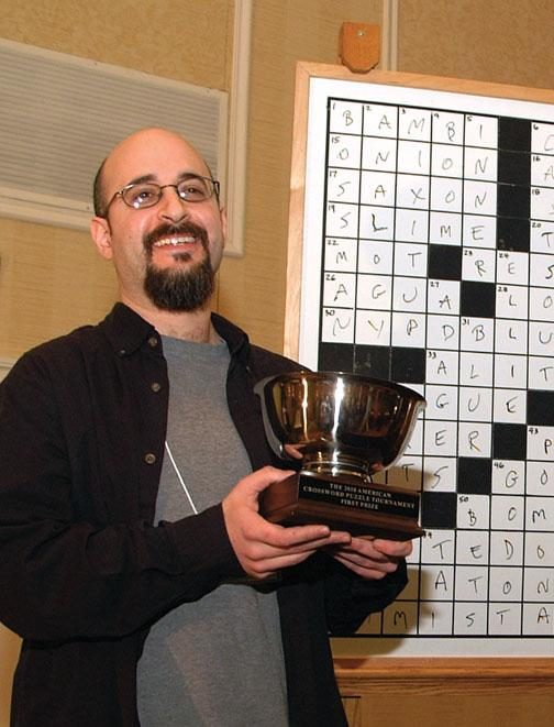 Dan Feyer '99, 2010 American Crossword Puzzle Tournament champion.