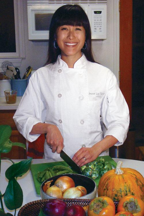 Joyce Lin-Conrad '02, Private Chef, San Francisco, Calif.