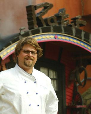 Peter Nowakoski '90, Executive Chef, Rat's Restaurant, Hamilton, N.J.
