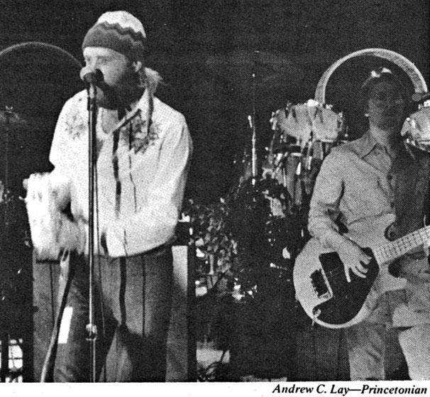 The Beach Boys, 1974: As students stomped in rhythm, the floor vibrated at Jadwin, prompting a review of whether the building should be allowed to host concerts. (Photo: Andrew C. Lay '78)